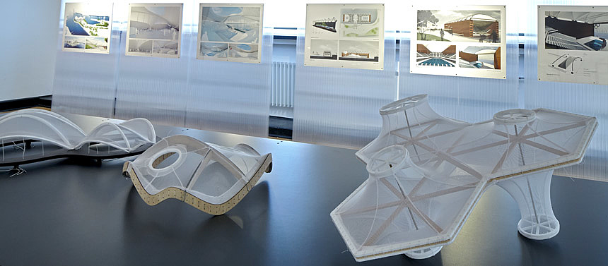 Amphibious Hamburg: Parametric Designs for an Olympic Aquatic Centre